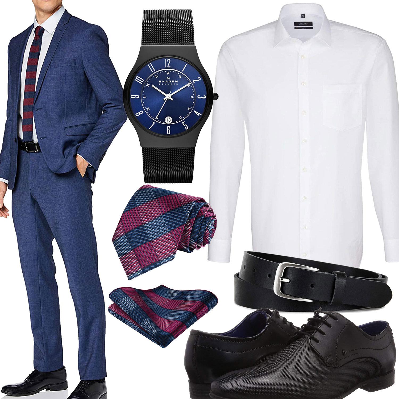 Schwarze blauer krawatte anzug Krawatte, Anzug